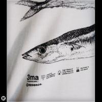 ロンT/メンズ/レディース/長袖/Tシャツ : 3ma : ホワイト