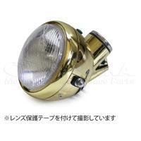 モンキー用 5Lタイプ ヘッドライトゴールド_田中商会直営店