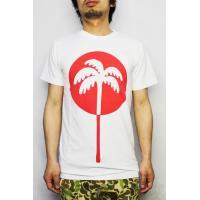 アルトゥルー ALTRU  / AFTERNOON FUN  プリント Tシャツ 半袖 アメリカ製 (ホワイト)