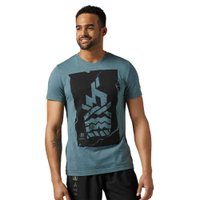【商品名】 リーボック Tシャツ Reebok スパルタン Tシャツ  【カラー】 アイロン ストー...