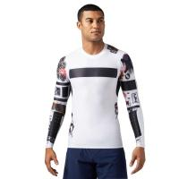 【商品名】 リーボック Tシャツ Reebok クロスフィット ハイパワー コンプレッション ロング...
