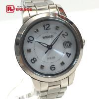 WIRED ワイアード  V137-0CM0 レディース腕時計 ソーラー 腕時計 メッキ レディース