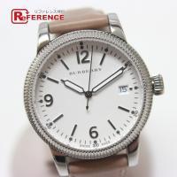 BURBERRY バーバリー  BU7822 腕時計 SS/革ベルト メンズ
