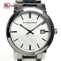 BURBERRY バーバリー  BU9000 SS クォーツ シティ 腕時計 SS メンズ