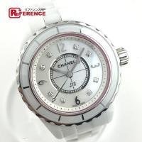 【商品名】シャネル J12 レディース腕時計 8Pダイヤモンドインデックス 【型番】H2570 【ム...