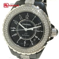 【商品名】シャネル J12 センターダイヤベルト メンズ腕時計  【型番】H1339 【ムーブメント...