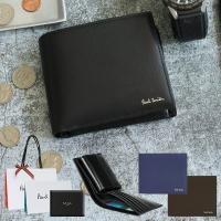 ポールスミス Paul Smith 財布 二つ折り財布 革製 レザー 男性用 メンズ P305   ...