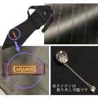 ARAMIS アスコットタイ ダークグリーン タイピン ポケットチーフ付き セット メンズ AS70-3