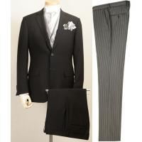 最新のスタイリッシュスリムデザイン、ディレクターズスーツのセットです。  超黒ジャケット、超黒スラッ...