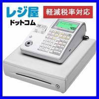 カシオレジスターTE-400-WESDカードスロットを搭載。売上データの保存・活用が可能です。・部門...