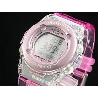 [カシオ] CASIO 腕時計 Baby-G(ベビーG) ピンクのスケルトンカラー(グロスカラー) ...