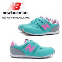 ニューバランス キッズ スニーカー 人気 New Balance K620  アクエリアス ピンク ...