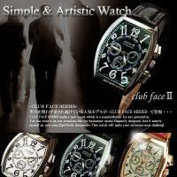 メンズ腕時計 人気 革 メンズ腕時計 ブランド ランキング clubface クラブフェイス CF-...
