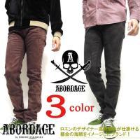 商品名 abordage パンツ メンズ ストレッチパンツ 商品番号 ABORDAGE-106  商...