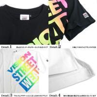 VISION Tシャツ グラデーションロゴ プリント 半袖Tシャツ ビッグサイズ メンズ ビッグTシャツ 商品番号 VISION-015