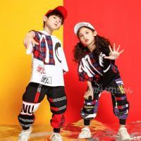 キッズダンス衣装ヒップホップ ダンス服装 男の子 女の子 韓国 半袖トップス Tシャツ サルエルパンツ パーカー ダンスシャツ 原宿系 ステージ衣装 練習着
