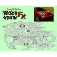 エアブラシ テンプレート ウッドグレインセット HPA-WGFX1 アネスト岩田|repair-and-paint