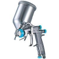 明治機械製作所 F-ZERO TypeT カップ付き 重力式スプレーガン メタリック・パール用|repair-and-paint
