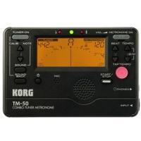 KORGのメトロノーム&チューナーのコンボ。コンパクトなボディで高性能なクロマチックチューナ...