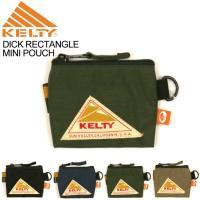 (ケルティ) KELTY ディック レクタングル ミニ ポーチ 小物入れ 小銭入れ 財布 メンズ レディース