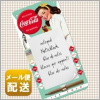■メモパッド 付属マグネットで冷蔵庫などに付けて使えるノスタルジックなデザインが人気のメモパッドです...