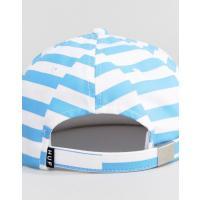 ハフ メンズ 帽子 アクセサリー HUF 6 Panel Baseball Cap With Block Stripes