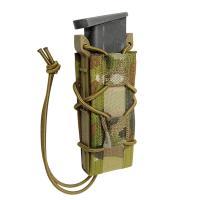 WARRIOR ASSAULT SYSTEMS  実物 シングルクイックマグポーチ 9mm弾用 [ マルチカム ] ウォーリアーアサルトシステムズ