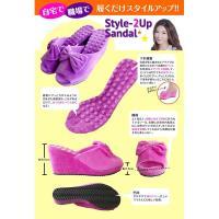 スタイル2アップ健康サンダル M ピンク