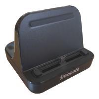 microUSB I/F デバイス向け 汎用タイプの充電スタンドmicroUSB端子を左右に位置調整...