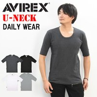 アビレックスのリブ素材デイリーウェア。もちろん新品未使用品。 アビレックスのTシャツはリブ素材を使用...