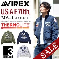 AVIREX(アヴィレックス) USAF 70th ANNIV.  TYPE MA-1 JKT   ...