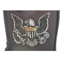 "GLAD HAND & Co. USA BOOTS GH - JOYRIDE ""HAND PAINT"" (BROWN) グラッドハンド オールアメリカンブーツ/エンジニアブーツ/All American BootsMfg., Inc"