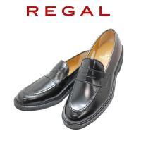 リーガル アウトレット ビジネスシューズ メンズ REGAL ローファー JU11AG 黒 本革紳士靴
