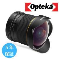 ○デジタル一眼レフ用に最適化された非球面魚眼レンズ    (画像フォーマット:APS-Cサイズに最適...