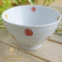 少し深みのある形のご飯茶碗です。 ふんわりと軽い!これが有田焼・波佐見焼の特徴。 お子様からご年配の...