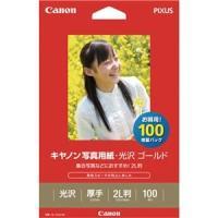 2310B034  【商品名】(まとめ) キャノン Canon 写真用紙・光沢 ゴールド 印画紙タイ...