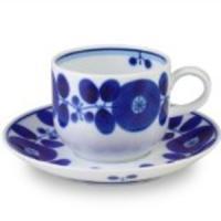 【商品名】白山陶器 ブルーム コーヒーカップ&ソーサー 200ml  (送料無料)(領収書発...