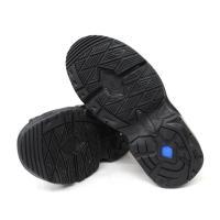 メンズ スポーツサンダル DUNLOP ダンロップ 43 黒 ブラック オフィスサンダル ドライバーサンダル 事務所履き ドライビングシューズ