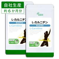 L-カルニチン 約3か月分×2袋 C-407-2 サプリメント 送料無料