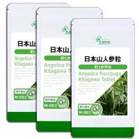 日本山人参粒 約1か月分×3袋 M-001-3 サプリメント 送料無料