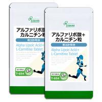 アルファリポ酸+カルニチン粒 約3か月分×2袋 T-654-2 サプリメント ダイエット 送料無料