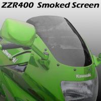【激安バイクパーツ】 ●ZZ-R400(ZX400N)用 スモークスクリーンです。 ●カラー:スモー...