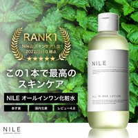 オールインワン 大容量 化粧水 メンズ ニキビ 化粧水 保湿 スキンケア オールインワン 化粧水 乳液 送料無料 幸せラボ Nile(ナイル)