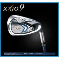 ダンロップ XXIO9 ゼクシオ9  アイアン ●ヘッド重量を重く、ボール初速がさらに向上 ●アベレ...