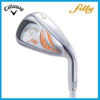 キャロウェイゴルフ FILLY フィリー アイアン(5本セット)  New filly シャフト:N...