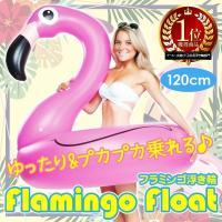 フラミンゴの姿をした浮き輪♪  海やピールで大活躍&目立つこと間違いなし♪  大きめの浮き輪で、まっ...