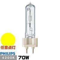 ●メーカー : フィリップス ●形番 : CDM-T70W/942 ●定格ランプ電力(W) : 70...