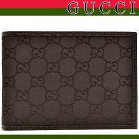 GUCCI/グッチ メンズ財布/札入れ グッチのメンズ折財布が入荷。シンプルなデザインのお財布はカー...