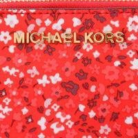 マイケル マイケルコース MICHAEL MICHAEL KORS ポーチ 小物入れ ダブルガゼット 花柄 35h7gtvw9r-sangria アウトレット