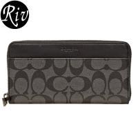 COACH   サイフ   財布 上品なレザーに高級感のあるデザインが魅力の長財布です。定番のシグネ...